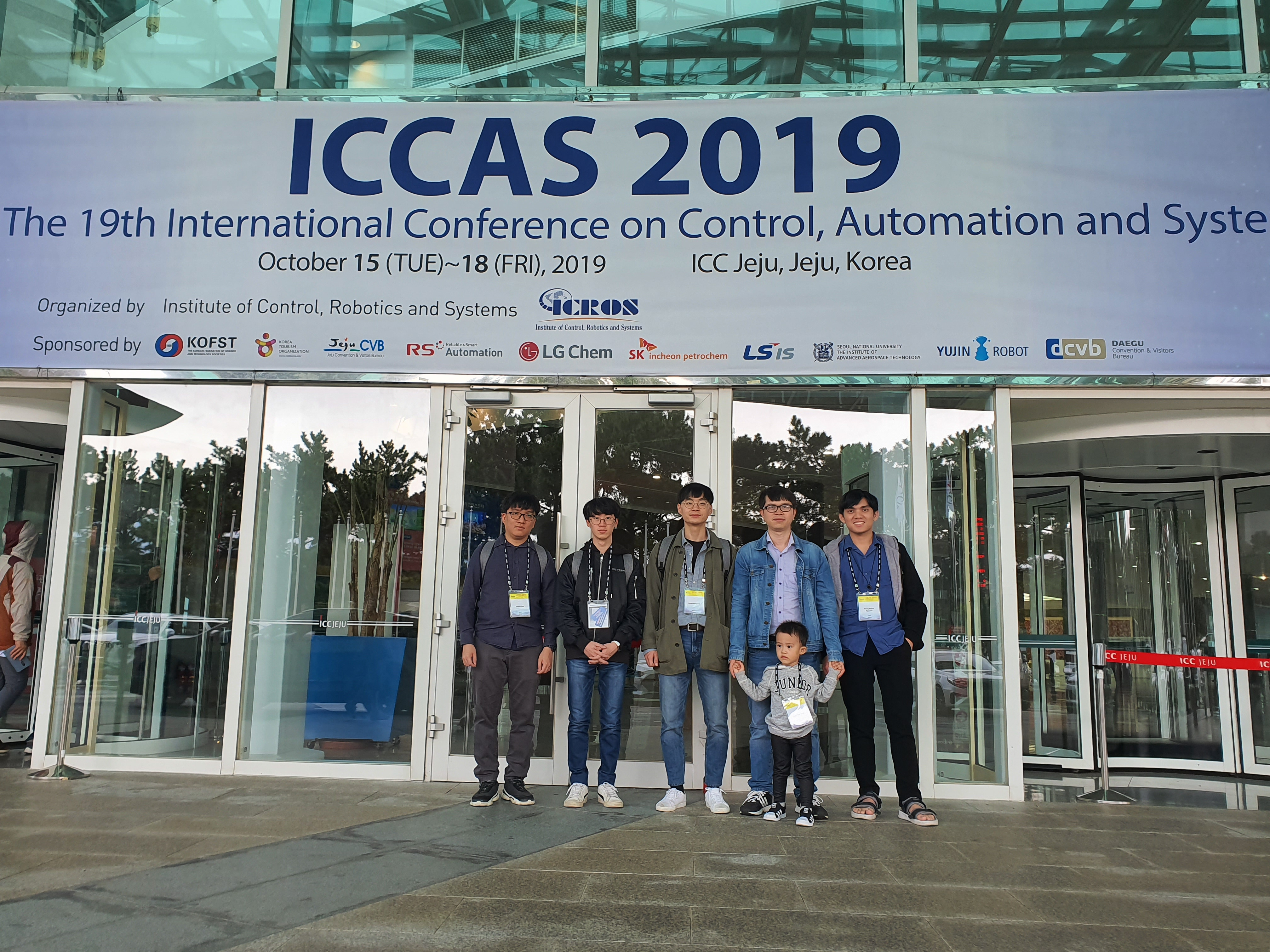 ICCAS 2019, October 15-18, Jeju ICC 이미지